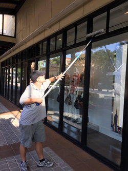 Storefront Window Cleaning davie